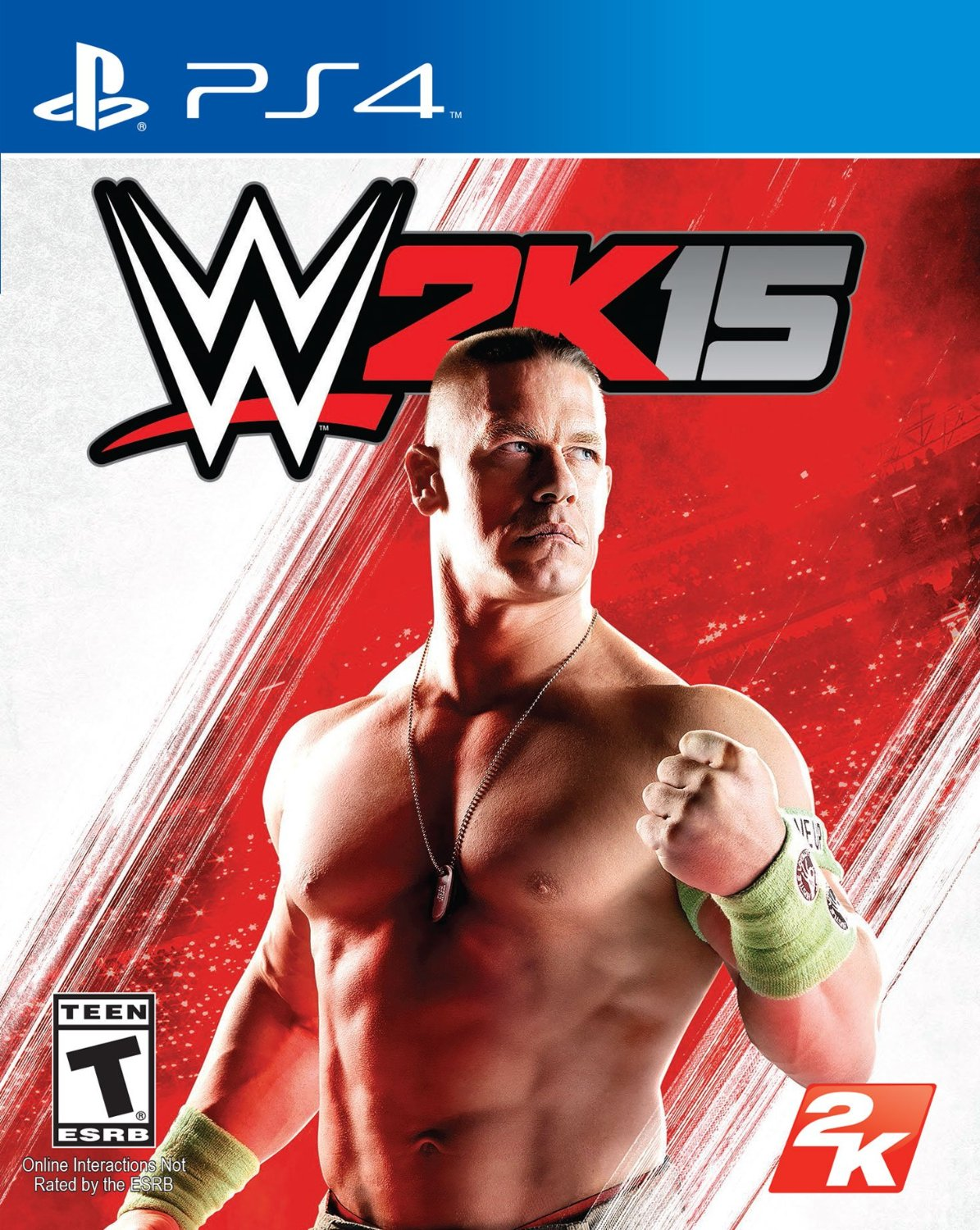 WWE 2K15 PS4 Cover Art