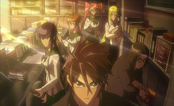31 Days of Anime - HotD Group shot
