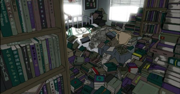 Read Or Die - Yomiko's home