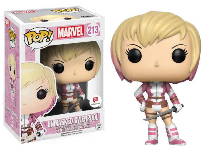 Gwenpool Pop 3 Unmasked Walgreens Exclusive
