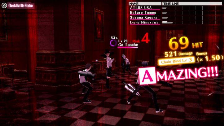 The Caligula Effect - battle screen