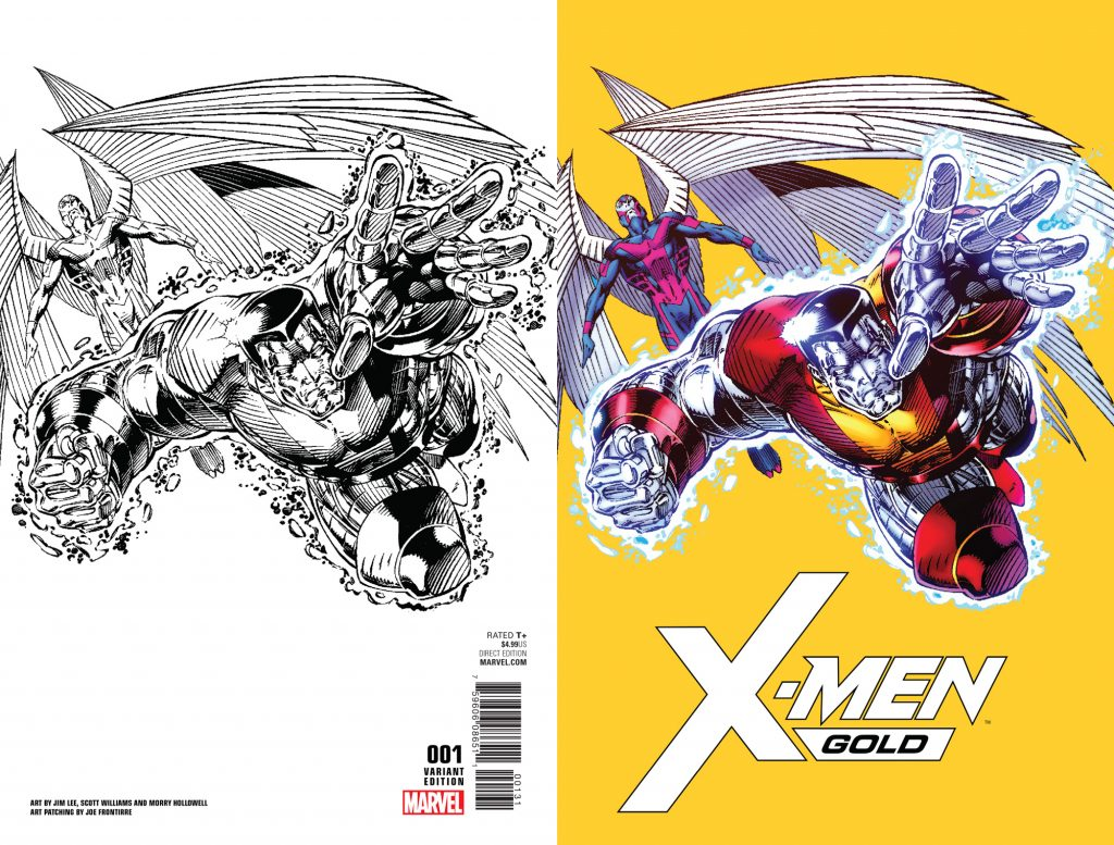 X Men Gold 1 Jim Lee Remastered Variant