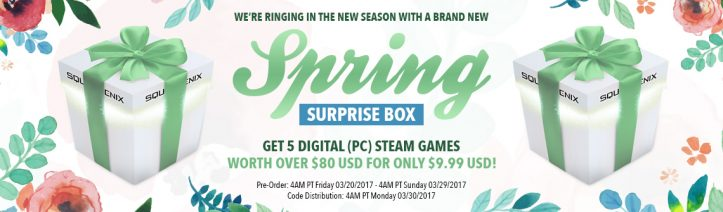 Square Enix - Spring Box