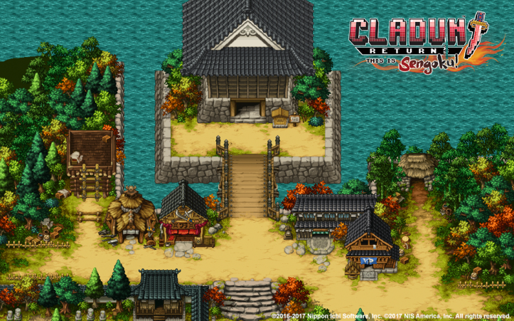 Cladun Returns: This Is Sengoku! - key art