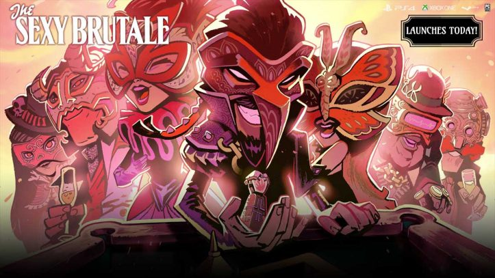 Sexy Brutale - launch poster