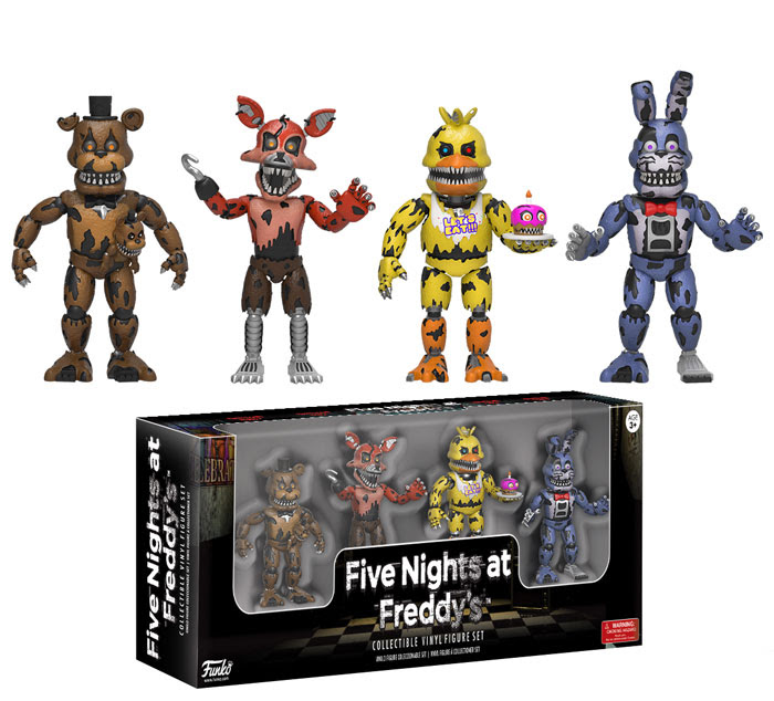 Funko FNF Nightmare 4 Pack