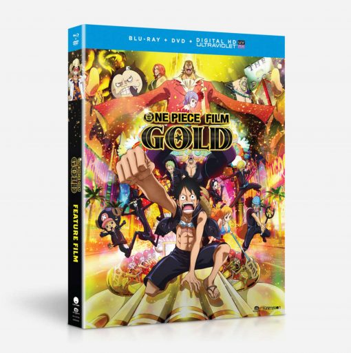 One Piece Film: Gold - blu-ray