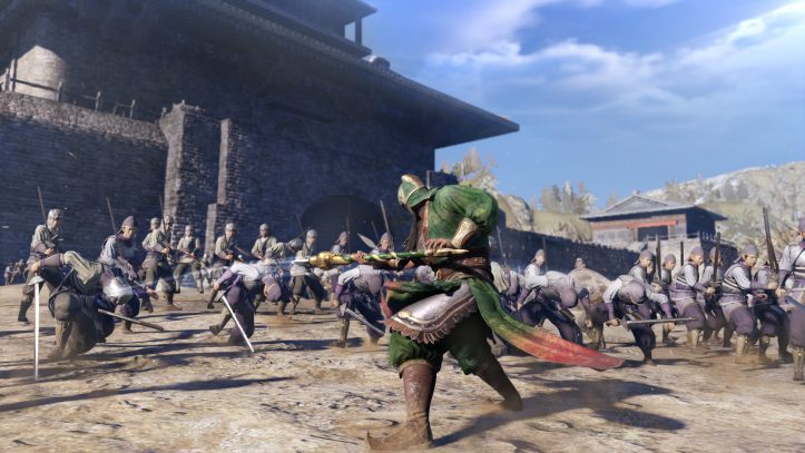 Dynasty Warriors 9 - battle action
