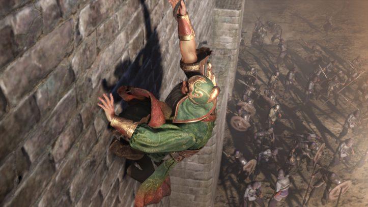 Dynasty Warriors 9 - wall scale