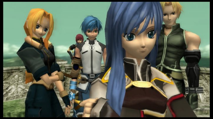 Star Ocean: Till the End of Time - group photo