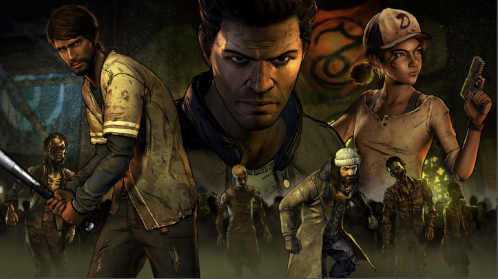 The Walking Dead A new Frontier - characters
