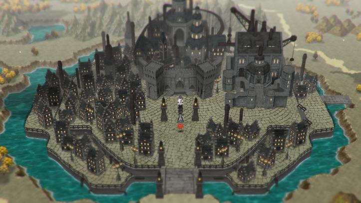 Lost Sphear - castle