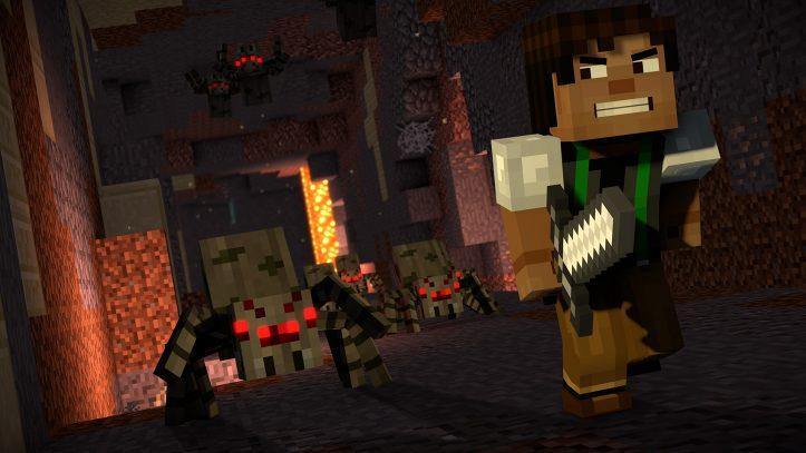 Minecraft: Story Mode - Jesse in danger