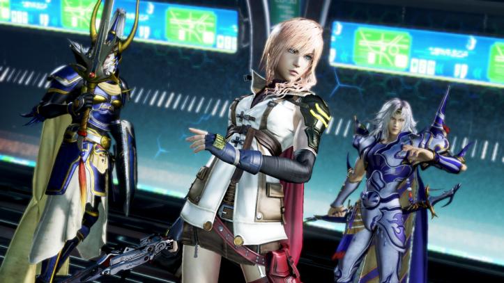 Dissida Final Fantasy NT - Team 3
