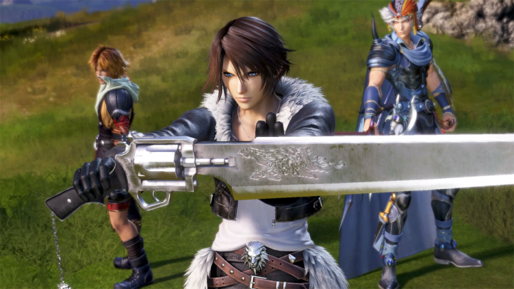 Dissida Final Fantasy NT - Team 4