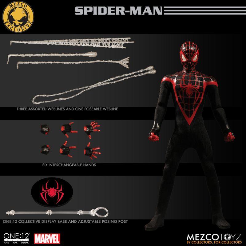 Mezco Miles Morales Spiderman 11