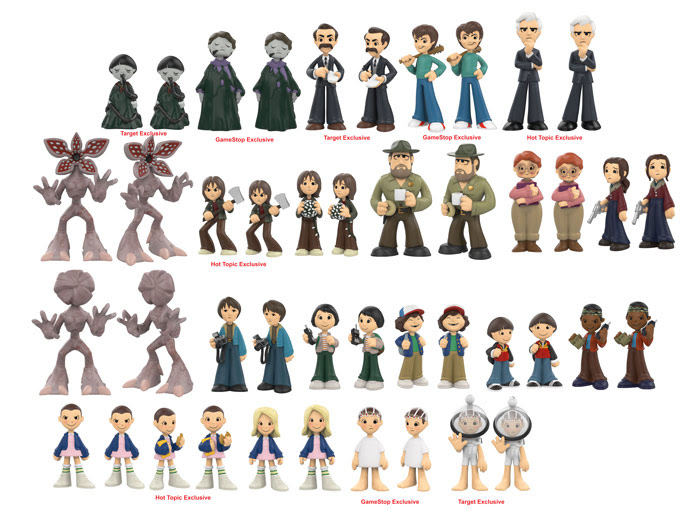 Funko Stranger Things Mystery Minis 2