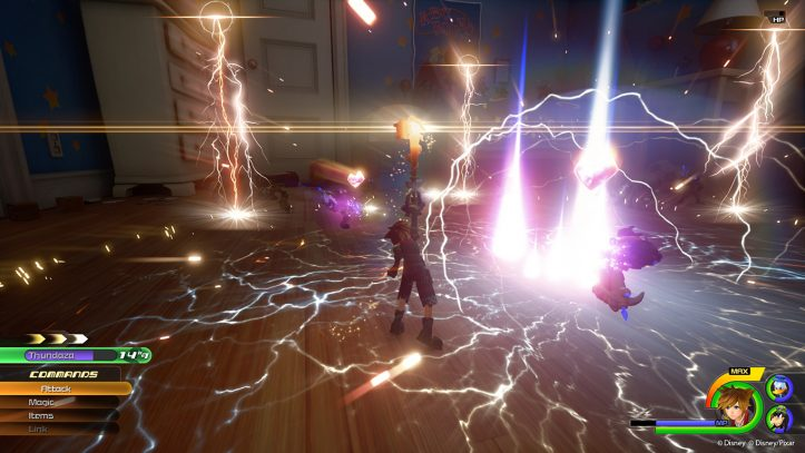 Kingdom Hearts III - Sora special attack
