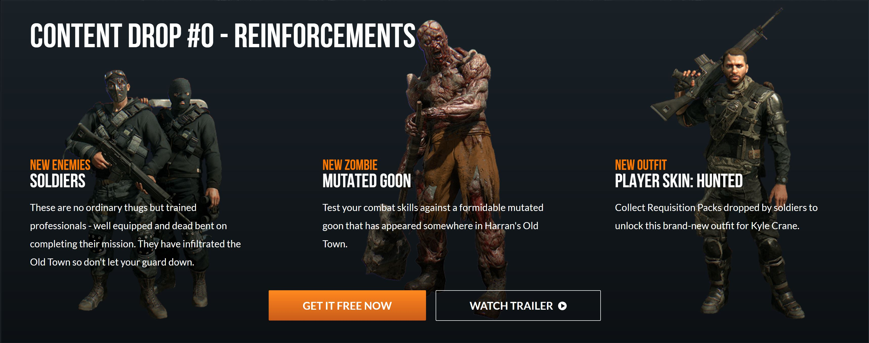 Dying Light - Content Drop 0