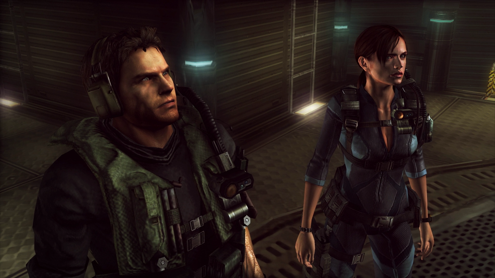Resident Evil Revelations - Chris & Jill