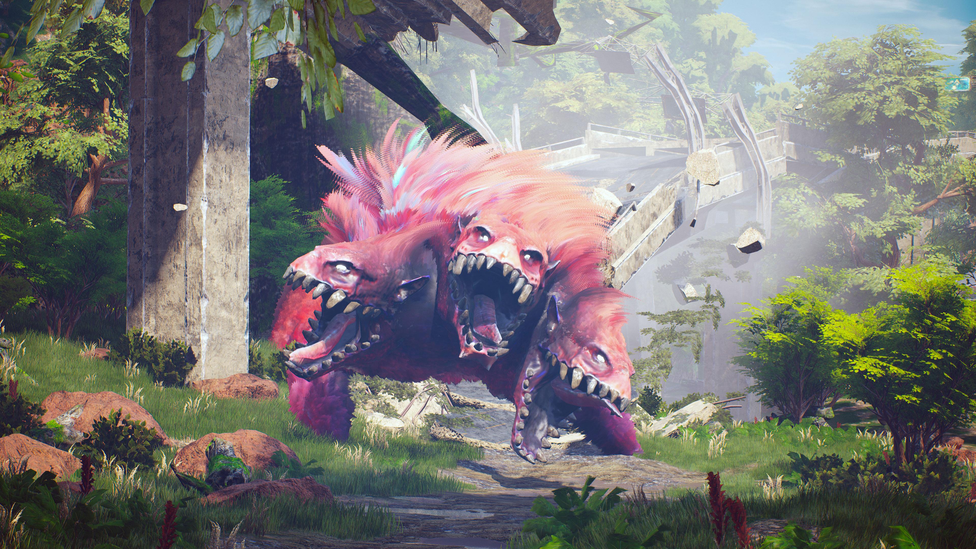 Biomutant - huge monsters