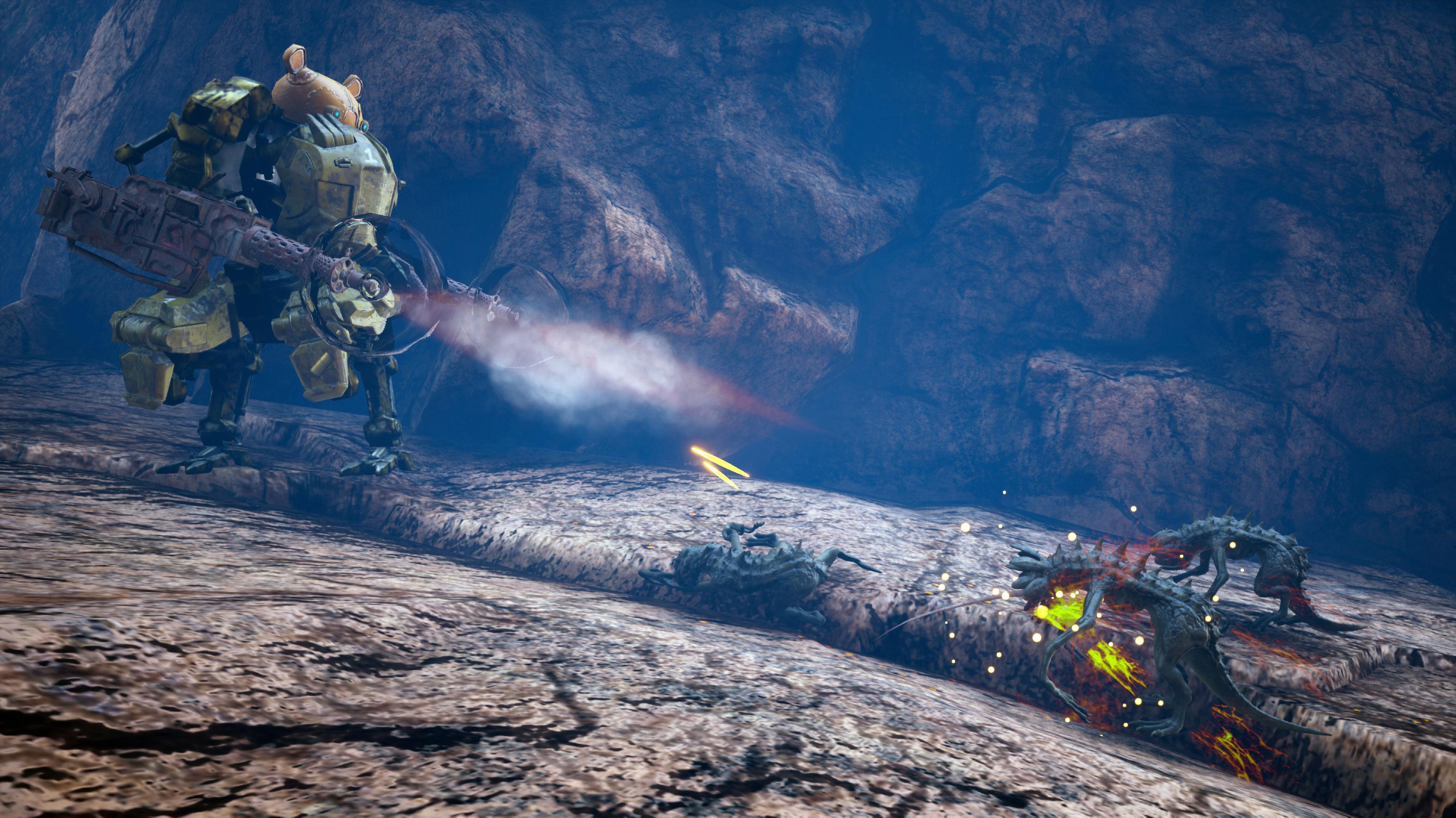 Biomutant - mech combat