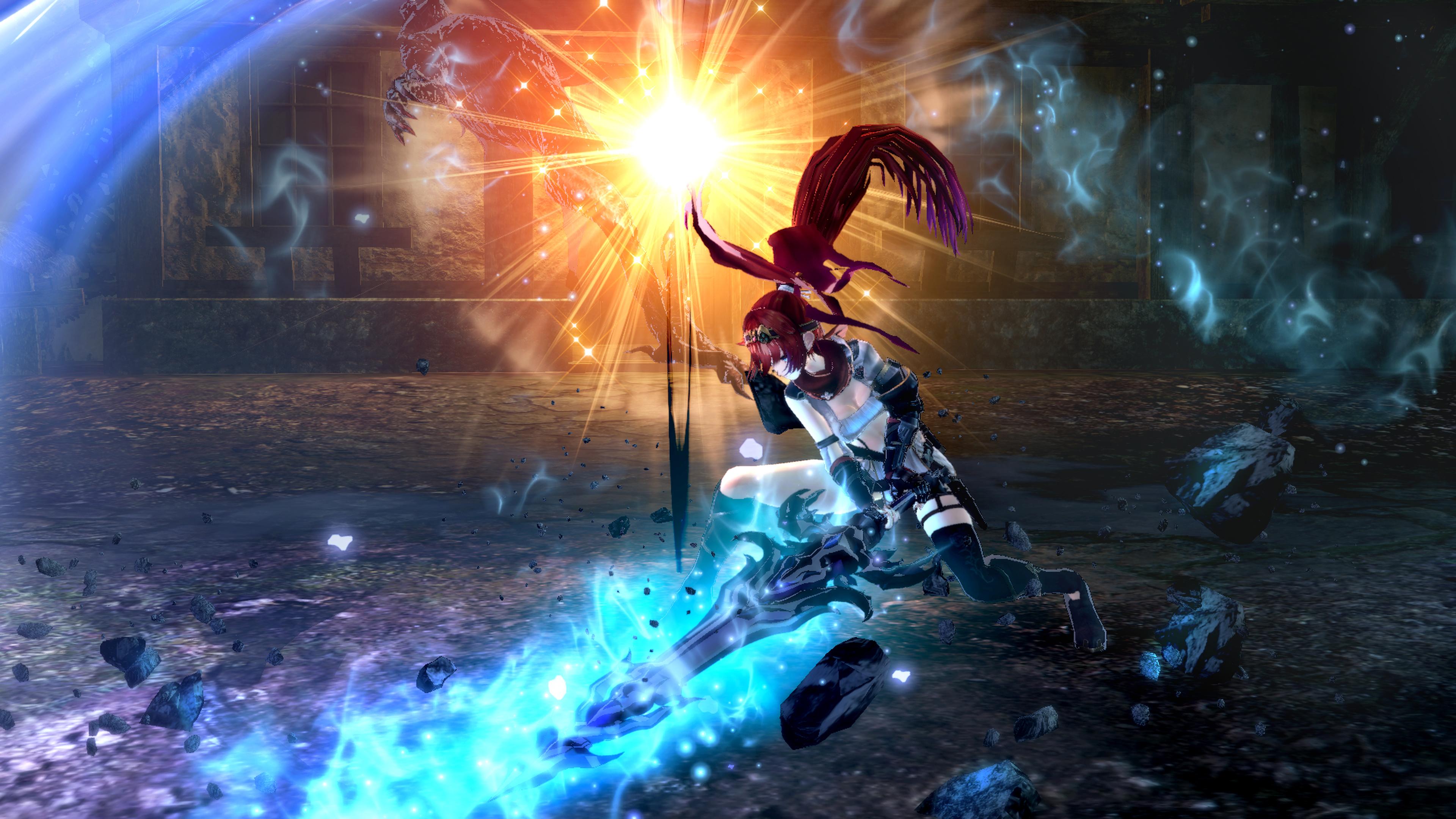Nights of Azure 2: Bride of New Moon - slash