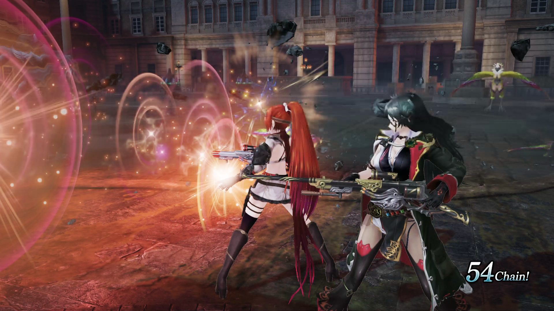 Nights of Azure 2: Bride of the New Moon - Girls with guns