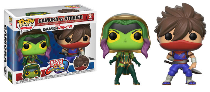 Funko Marvel v Capcom Infinite Gamora vs Strider