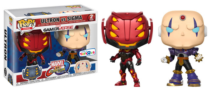 Funko Marvel v Capcom Infinite Ultron vs Sigma