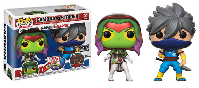 Funko Marvel v Capcom Infinite 7