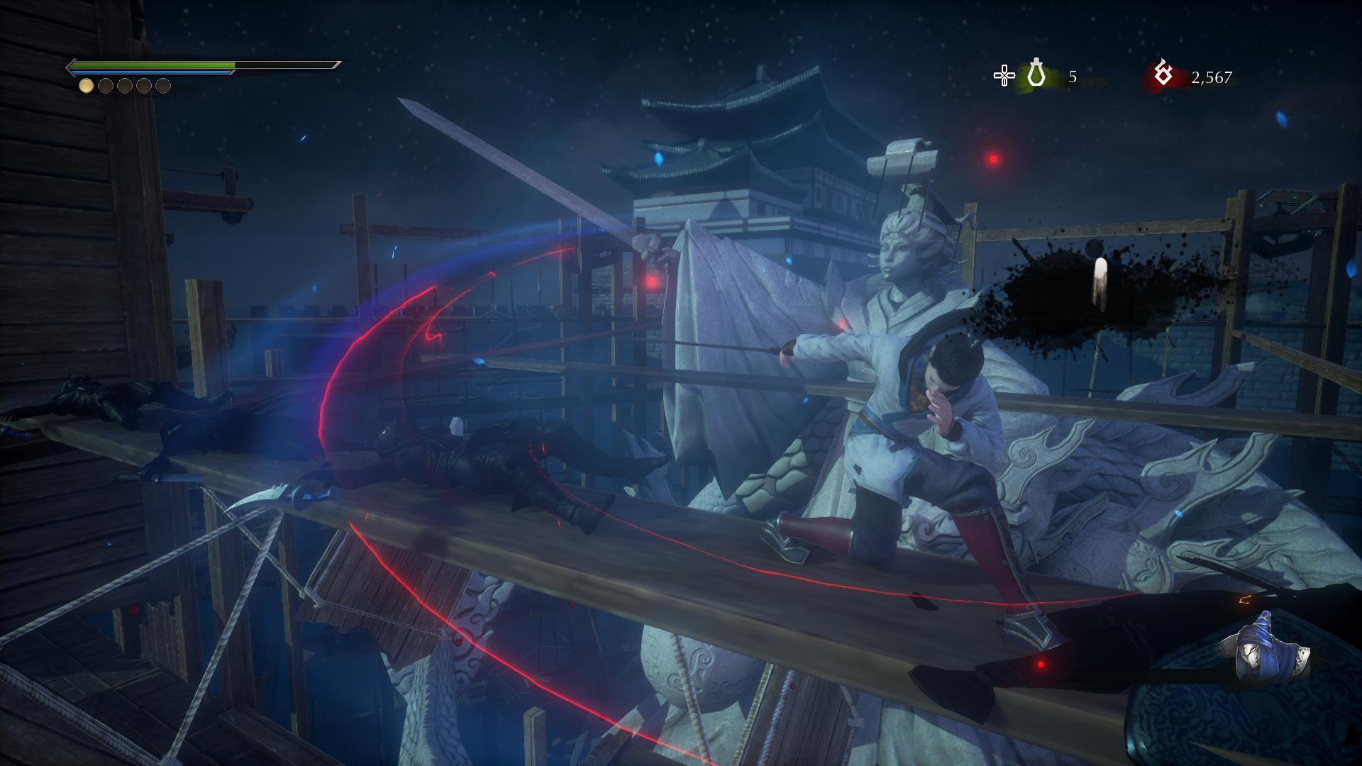 Hidden Dragon Legend: Shadow Trace - finish