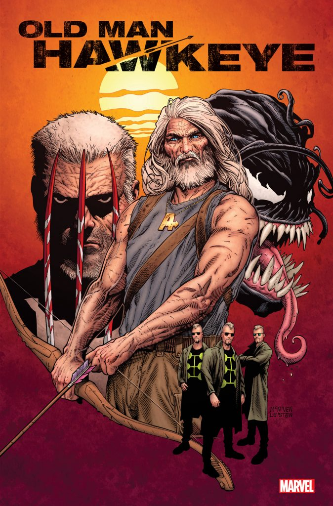 OLD MAN HAWKEYE MCNIVEN VAR