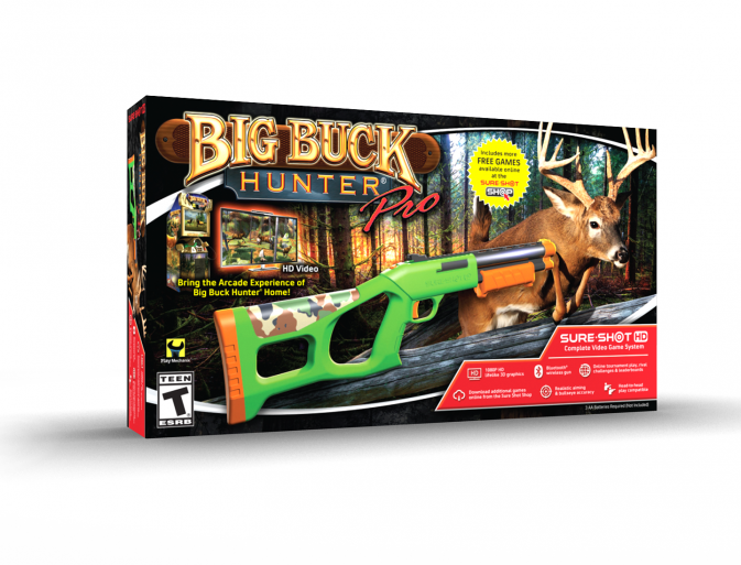 Big Buck Hunter Pro System Retail Box