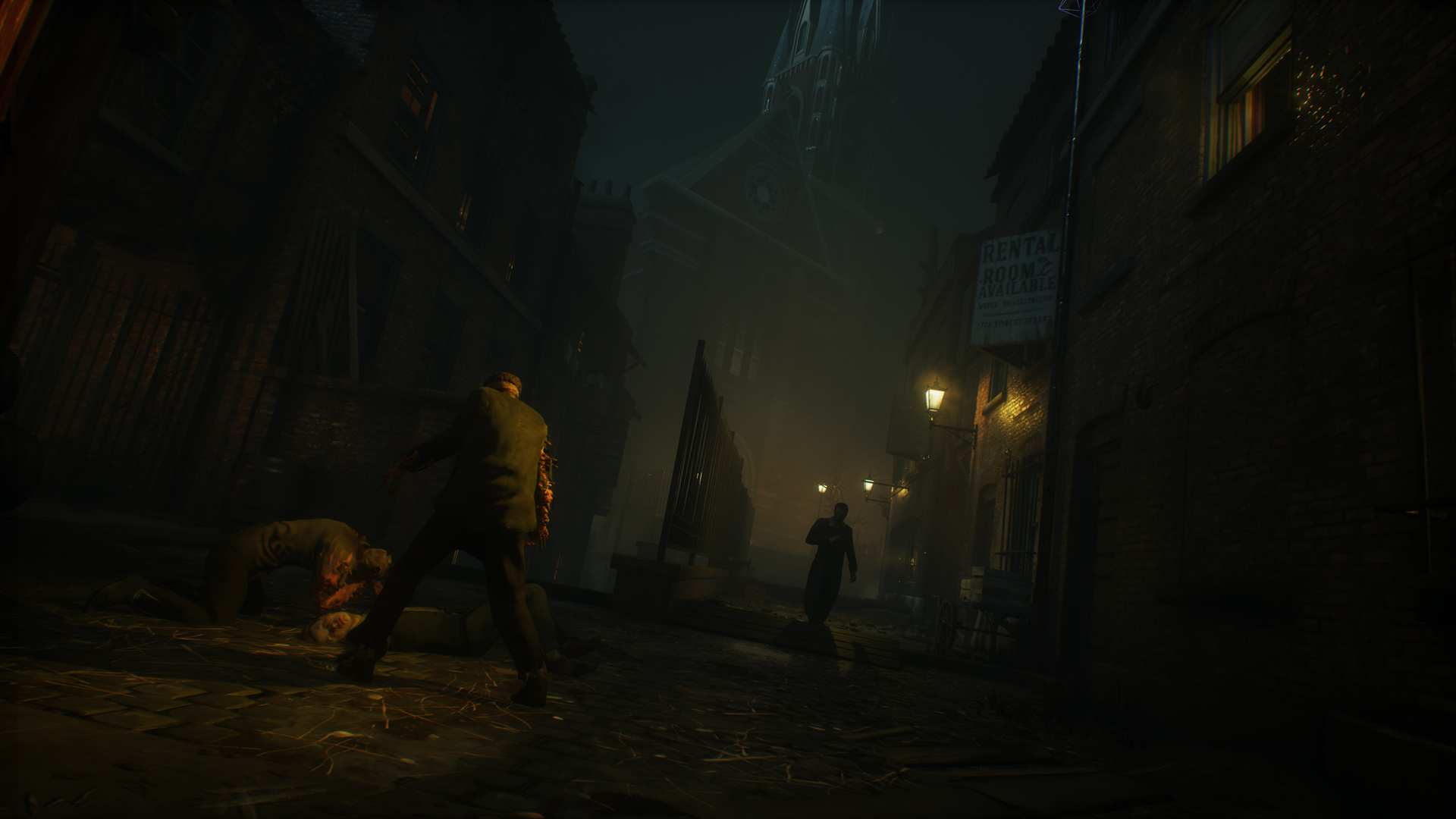 Vampyr - street encounter