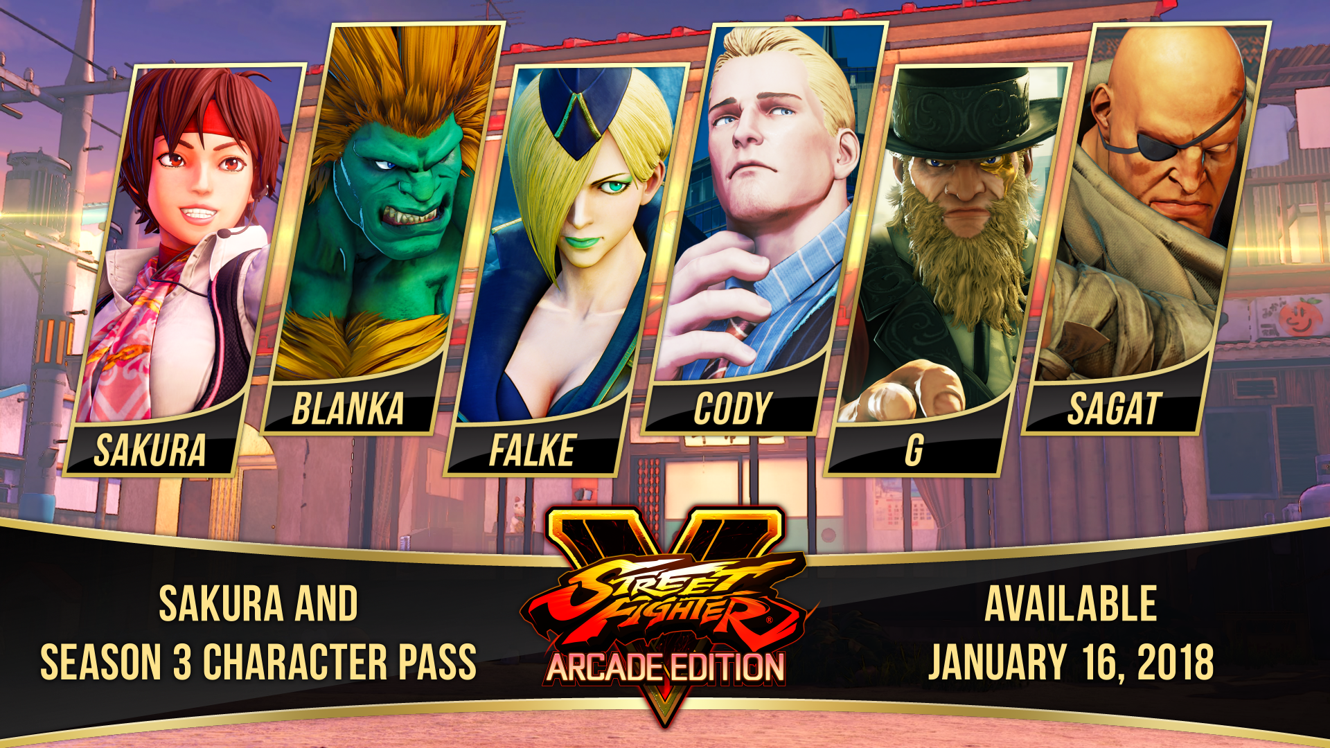 Street Fighter V: Arcade Edition - Season 3