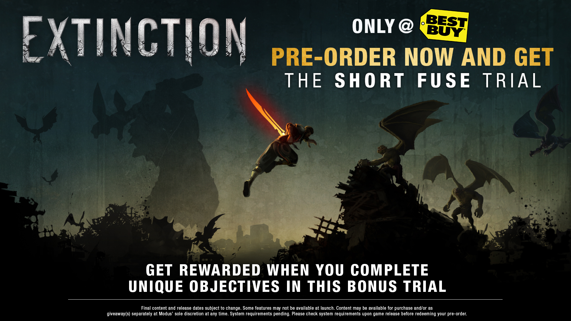 Extinction - Best Buy pre-order incentive