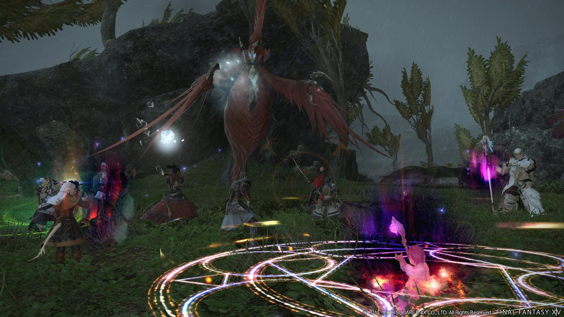 Final Fantasy XIV: Stormblood - Forbidden Land