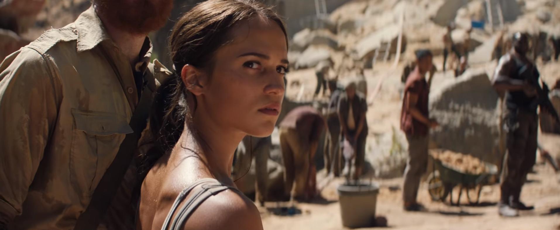 Tomb Raider - camp