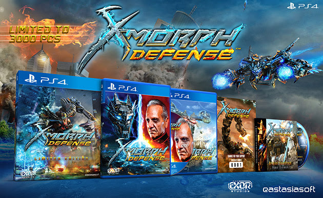 X-Morph: Defense - PS4 Limited Edition
