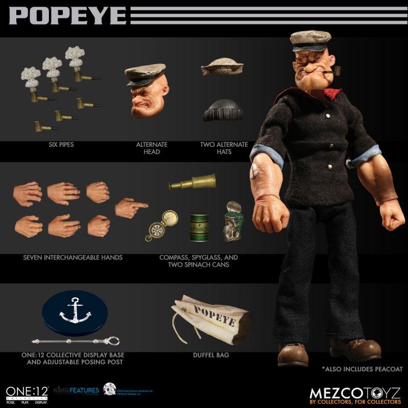 Mezco Popeye 17