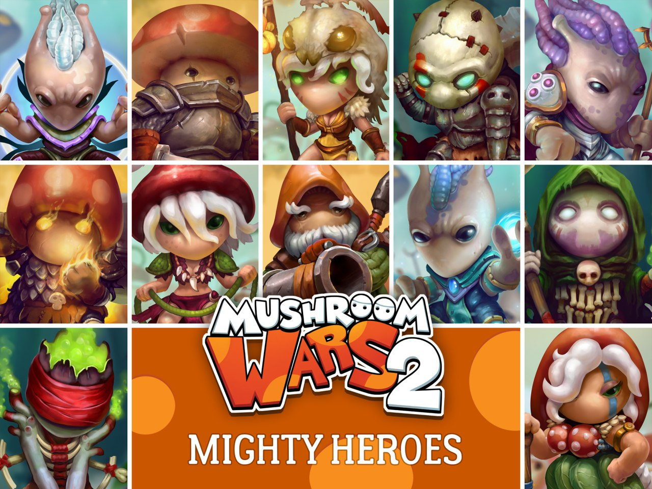 Mushroom Wars - warriors