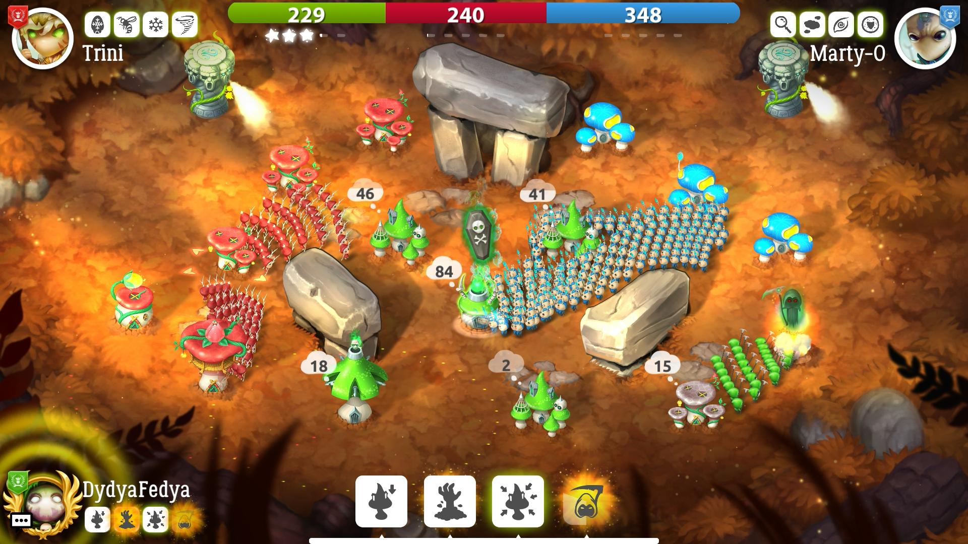 Mushroom Wars 2 - battle 02