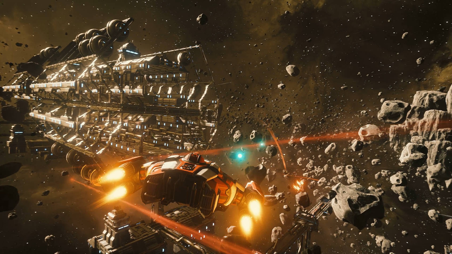 Everspace - asteroid field