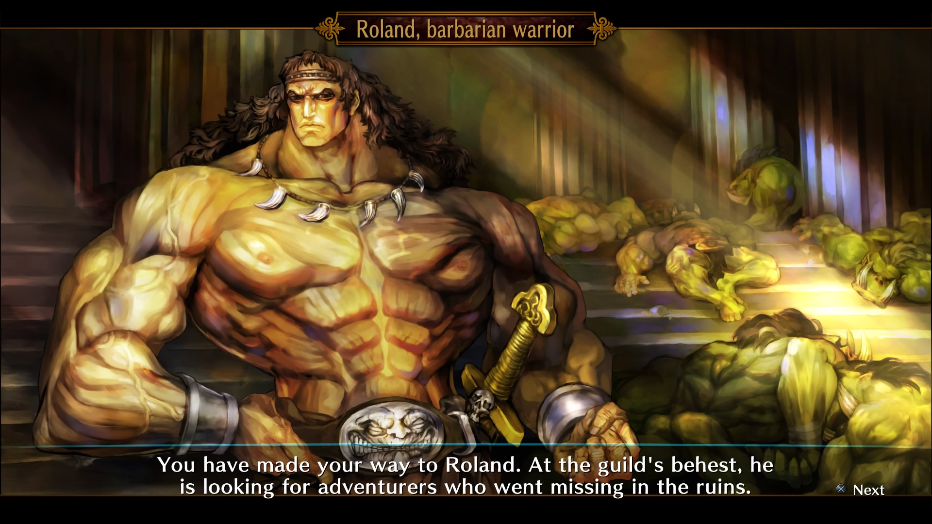 Dragon's Crown Pro - Roland the Barbarian