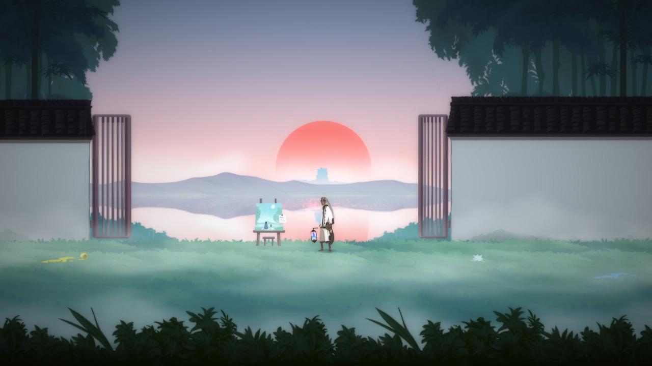 Shio - sunset