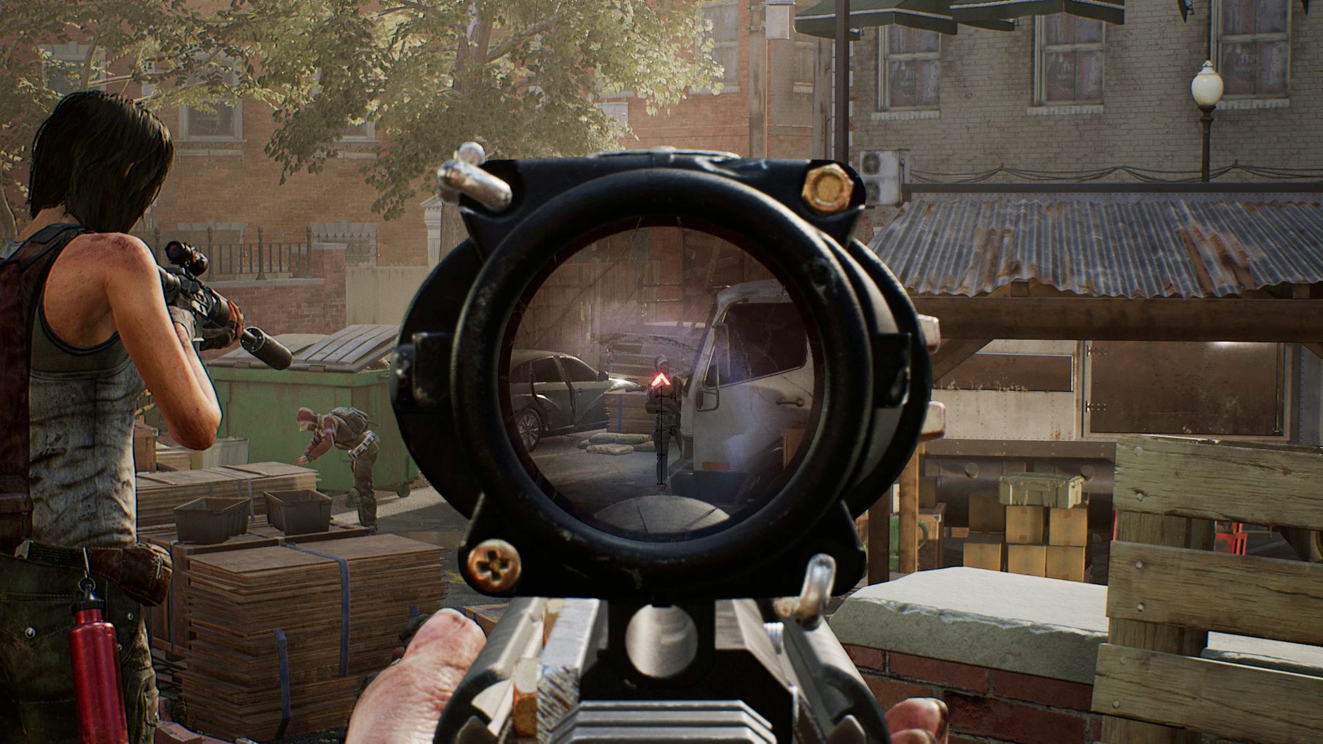 OVERKILL's The Walking Dead - sniper