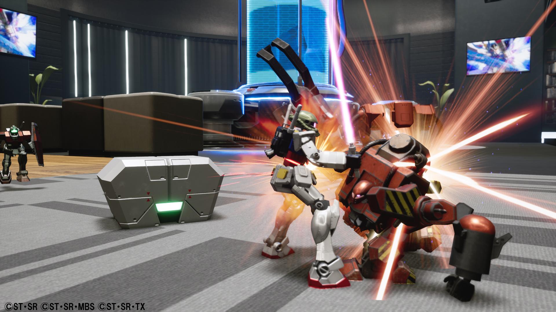 New Gundam Breaker - battle