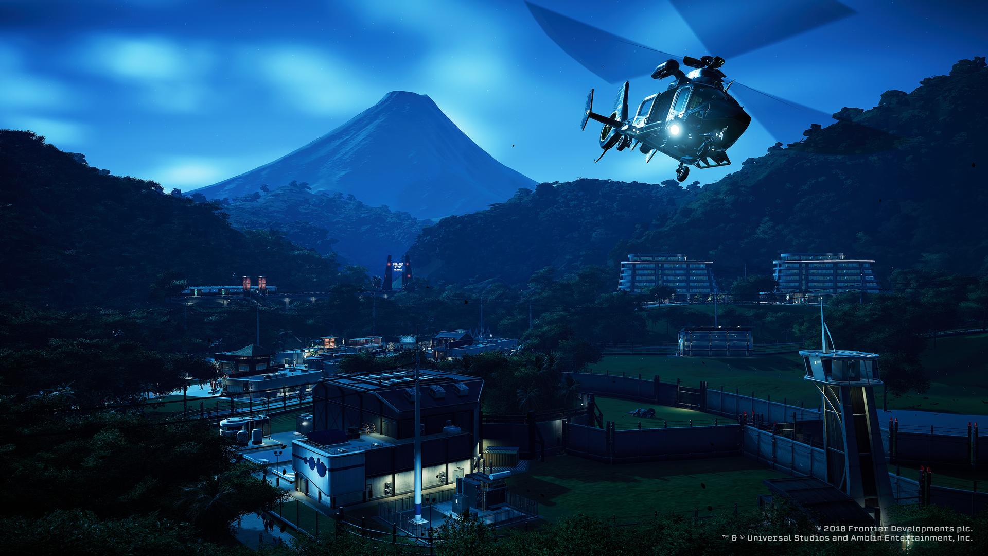 Jurassic World Evolution - ACU chopper