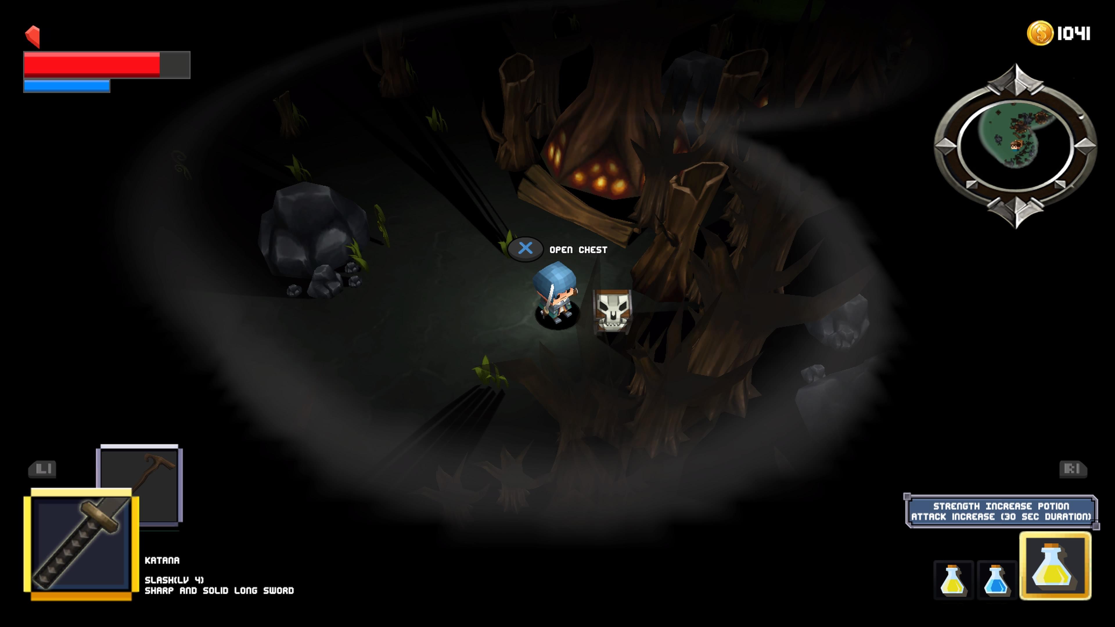 Survive! Mr.Cube - mimic